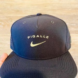 Nike Accessories - Nike x Pigalle Black Anthracite Snapback Hat